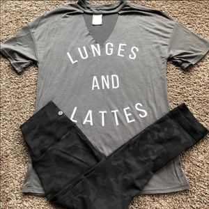☕️Lunges and lattes matter top☕️